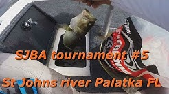 SJBA tournament #5 St  Johns river Palatka FL