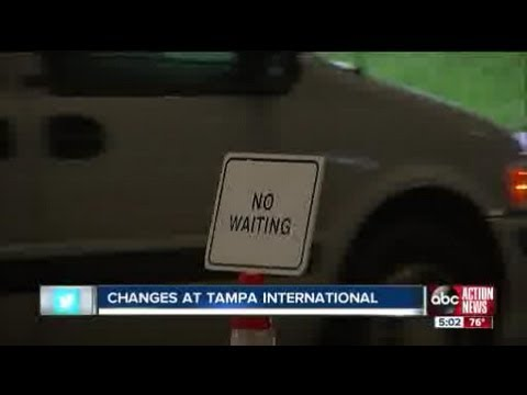 Curbside Parking Changes At Tampa International Airport Youtube