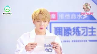 [VIETSUB] 180306 Idol Producer @ Chu Chính Đình đọc thư fan (Pt.2)