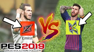 EL CLASICO PALING SENGIT ZANLAT vs KILAT PES 2019 PART 1