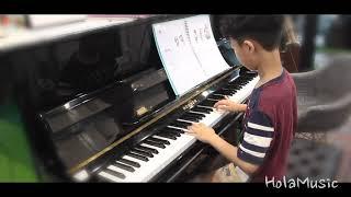 윤후의 멋진  피아노연주입니다!(Cover.꼬마야)-올…