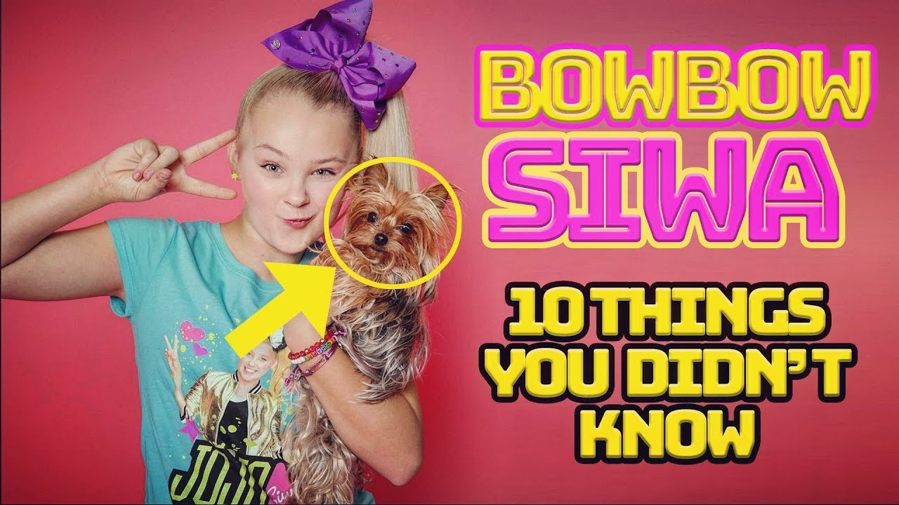 Jojo Siwa 10 Things You Didn T Know About Bowbow Siwa Youtube