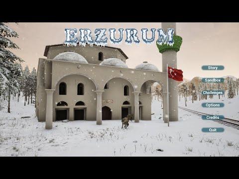 Erzurum Cold Winter Survival Gameplay In Turkey