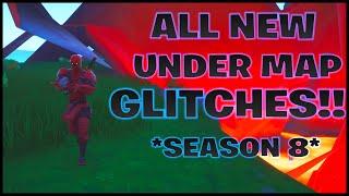 Fortnite Glitches: All NEW Under Map Glitches *Season 8*