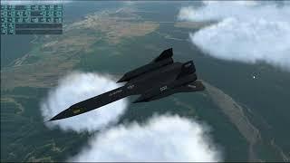 X-Plane 11 - SR-71 07 - Dubai to Kathmandu