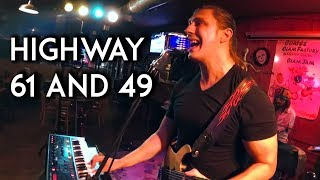 Highway 61 and 49. Inspired by story of Robert Johnson and the lege...