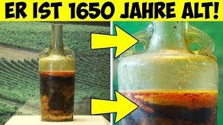 Die älteste Weinflasche der Welt!