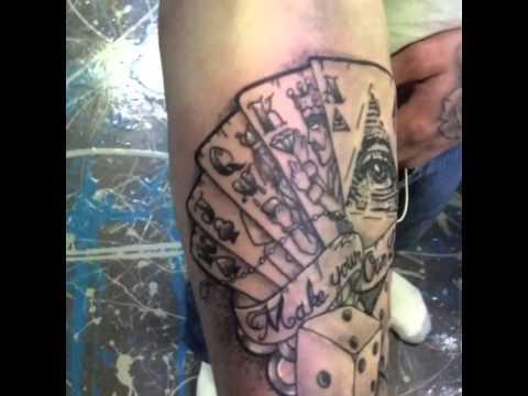Illuminati Tattoo Luck