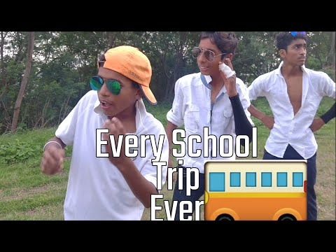 Types Of Students At School Trip Ever || Smoggy Television
