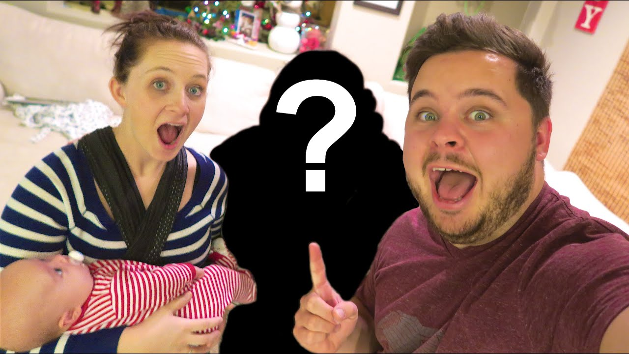 SURPRISE CHRISTMAS GUEST! - YouTube