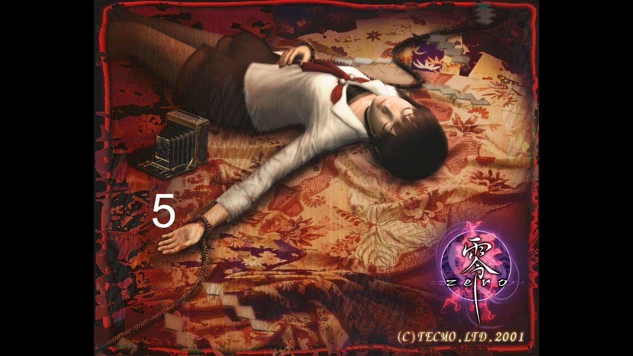 fatal frame Walkthrough part 5 door puzzle 2 on the ps2 - YouTube