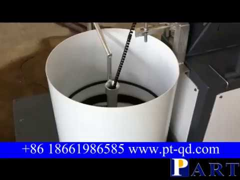 spiral pipe machine used for pretect oil hose or wire cable