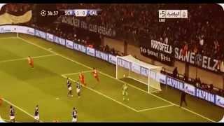 Schalke 2-3 Galatasaray Hamit'in Füzesi 12.03.2013