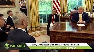 ✅ #GBCNews  EEUU y China llegan a un parcial acuerdo comercial. Octubre 14, 2019