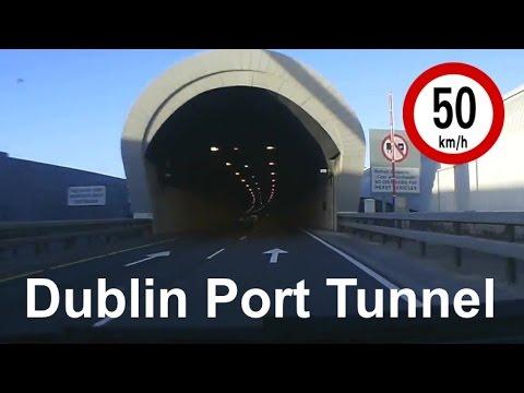 Dash Cam Ireland - Dublin Port Tunnel - Dublin, Ireland.
