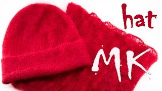 ШАПКА СПИЦАМИ СВЕРХУ ► Как вязать шапку от макушки ► Мастер класс по вязанию DIY