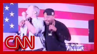 Gambar cover Tom Steyer's dance with rapper Juvenile goes viral