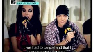 Kenza interview with Tokio Hotel