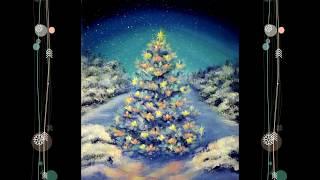 3 Как нарисовать Новогоднюю Рождественскую Ёлку How To Paint a Christmas Tree
