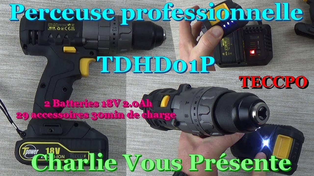 PARKSIDE PERFORMANCE Set d/'embouts torsion et douilles 40 pièces