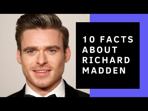 Richard Madden // 10 Facts You Didn't Know About Him