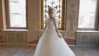 Купить свадебное платье с кружевной спиной