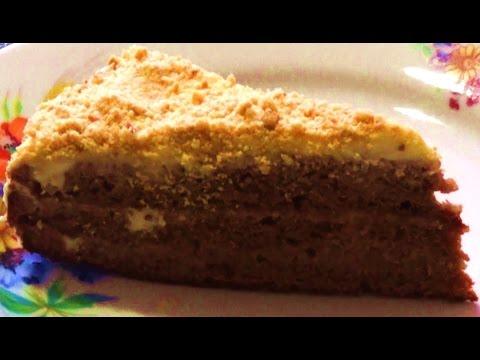 ТОРТ НА СГУЩЁНКЕ / Как приготовить торт на сгущенном молоке