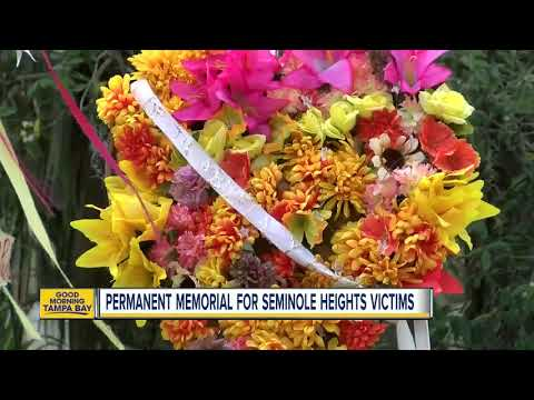 Neighbors want a permanent memorial to honor victims of the Seminole Heights serial killer