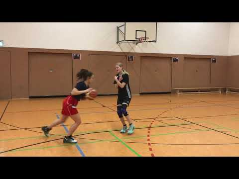 4 Great Basic Basketball Drills For Kids - Pick And Roll, Fakes And Finishes