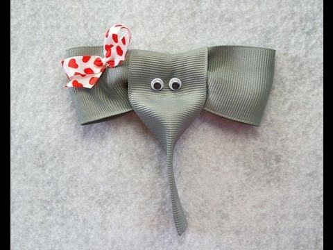 make elephant ribbon