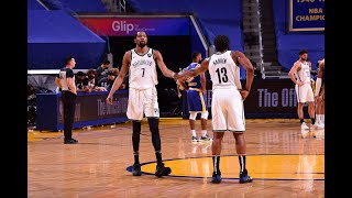 Kevin Durant, Kyrie Irving And James Harden Show Out Vs. Warriors | Game Highlights