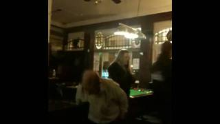 BBC Political Editor Nick Robinson jiving in an East End boozer