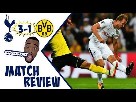 Tottenham Hotspur vs Borussia Dortmund 3-1  MATCH REVIEW |UEFA CHAMPIONS LEAGUE 17-18 |