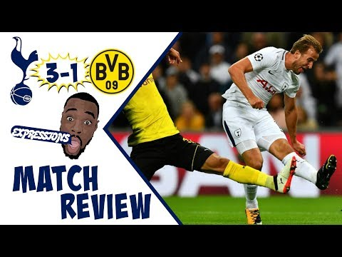 Tottenham Hotspur vs Borussia Dortmund 3-1  MATCH REVIEW |UEFA CHAMPIONS LEAGUE 17-18 |