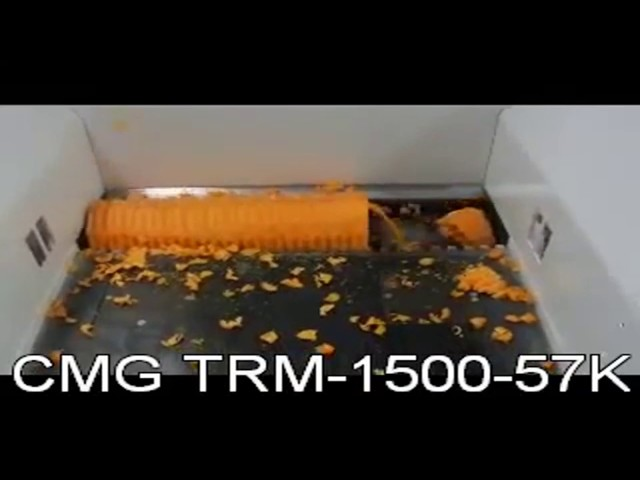 22 Trituratore TRM1500 57K Shredder TRM 1500 57K