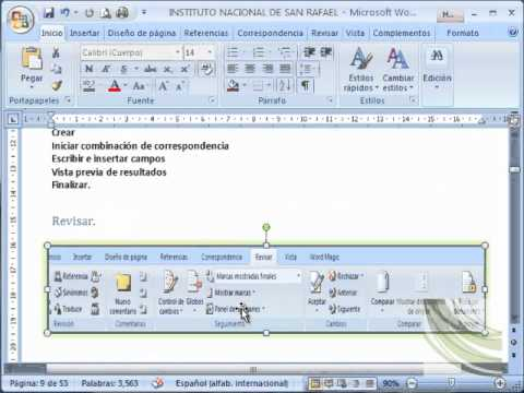 manual de microsoft word 2007 parte 1 youtube