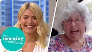 Miriam Margolyes Gives Holly The Giggles Talking About Coping With Lockdown | This Morning