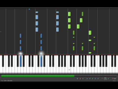Coldplay - Viva La Vida - Adrian Lee Version (piano tutorial)