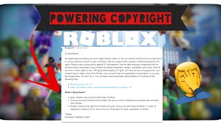 ROBLOX's New Copyright Policy: IT SUCKS | Stupid Updates