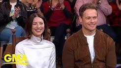 Caitriona Balfe and Sam Heughan give sneak peek at new season of 'Outlander' l GMA