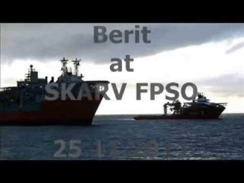 Berit besøker Skarv FPSO