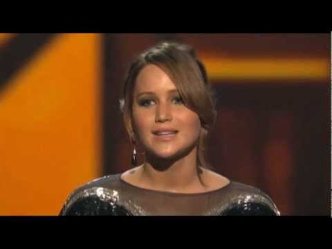 2013 People´s Choice Awards - Jennifer Lawrence wins Favorite Movie Actress & Face of Heroism