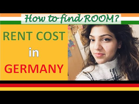 How to find accommodation in Germany, Dorm room tour Germany with tips & rent process (2018)