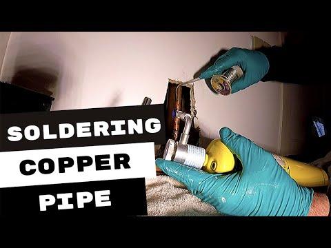 PLUMBING REPAIRS   COPPER PIPE LEAKING WATER