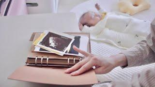 육아브이로그 D+85 ⓢ 2개월 아기의 하루 · 초음파…