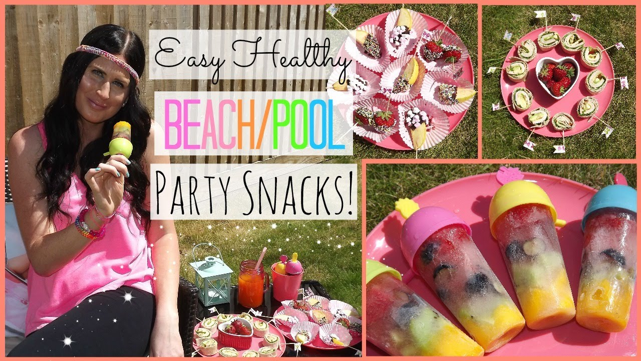 Pool Party Food Ideas For Teenagers best 20 luau party decorations ideas on pinterest luau decorations hawaiian party decorations and tropical party decorations Healthy Beachpool Party Snack Ideas Youtube