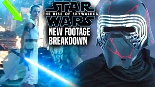 The Rise Of Skywalker New Footage Breakdown & Reaction! (Star Wars Episode 9 TV Spot)