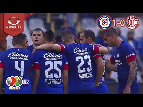 ¡La máquina sigue invicta! | Cruz Azul 1 - 0 Toluca | Liga Mx - A 2018 J - 6 | Televisa Deportes