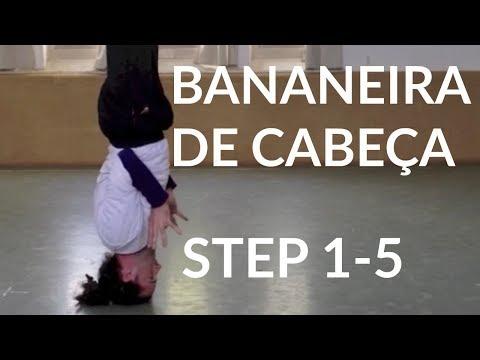 How to do BANANEIRA DE CABEÇA | Capoeira Tutorial