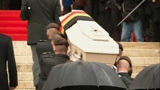 В Бельгии простились с вдовствующей королевой Фабиолой (новости) http://9kommentariev.ru/